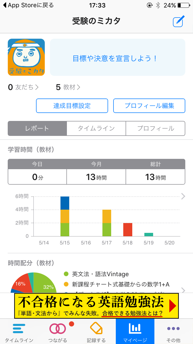 勉強時間を記録・管理する厳選無料アプリ5選!|高校生向け ...